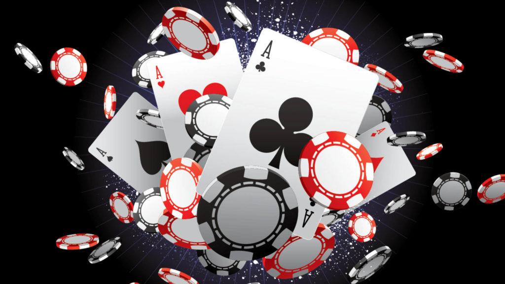 a poker card
