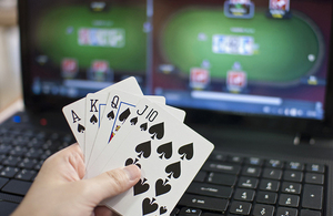 Use online poker